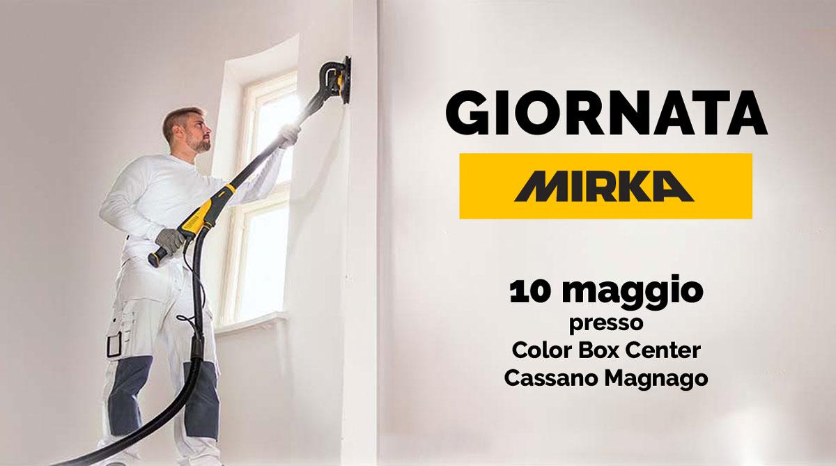 Giornata promozionale Mirka da Color Box Center a Cassano Magnago