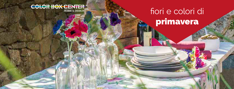 Collezione primavera di tessuti per la casa, oggettistica e complementi d'arredo